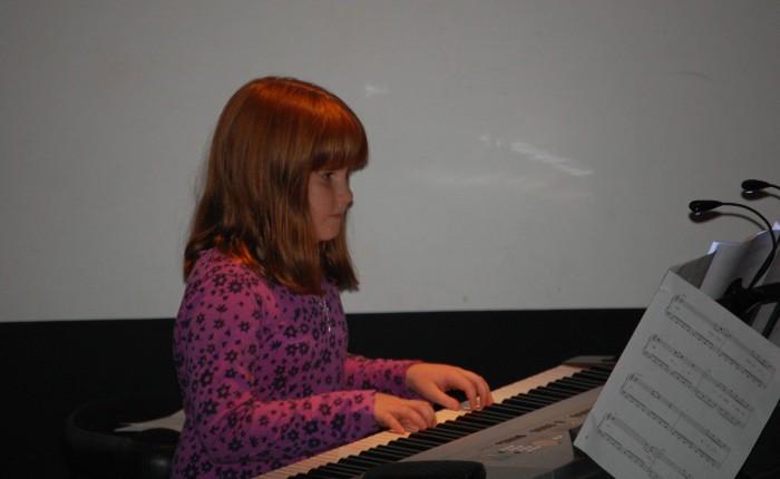 Performing at The Studio Cellar Piano Recital at The Bartlett Nature Center.     Nov 2012